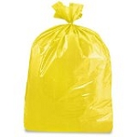 40-45 Gallon Yellow Trash Bags 40x46 1.7 Mil 100 Bags