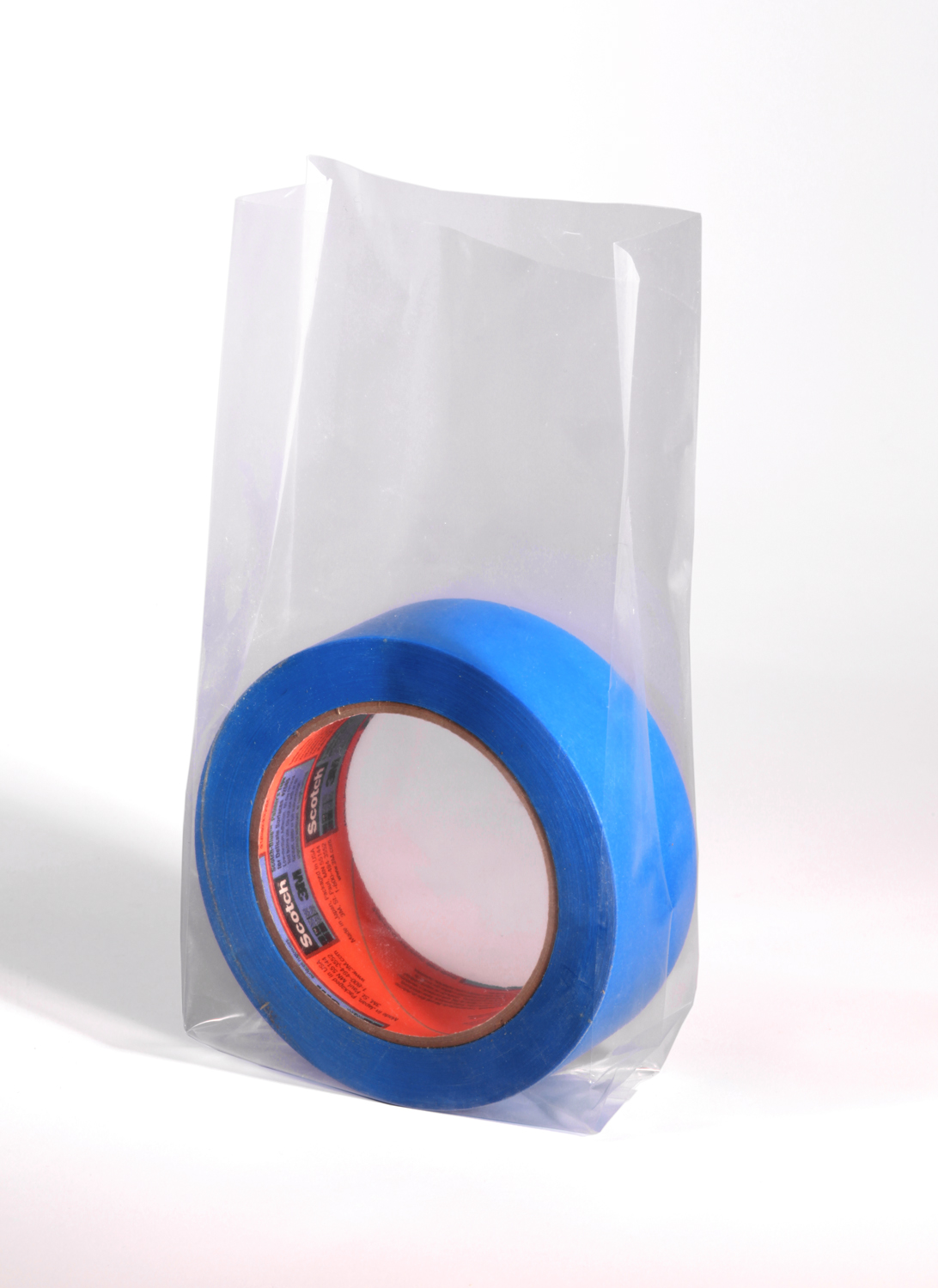 Clear Gusseted Poly Bags 6 x 3 x 12 x 3 Mil (3 in gusset) Case:1000