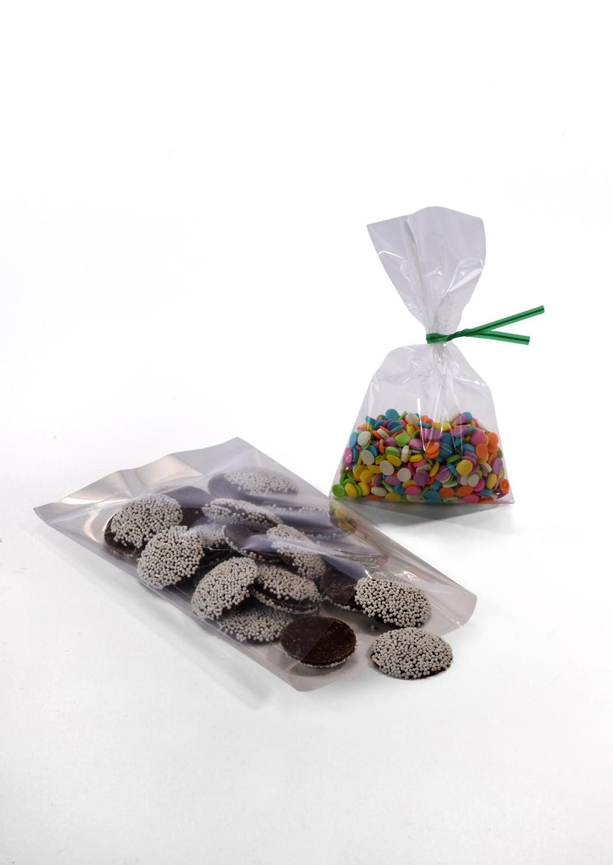 Clear Polypropylene Bags 8 x 10 x 1 5 Mil Case:1000