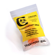 Reclosable Chemotherapy Transport Bags