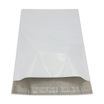 12 x 15.5 Poly Mailers Envelopes Shipping Bags White Perforated 2.5 mil Case:100
