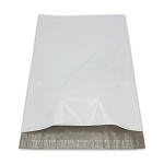 14.5 x 19 Poly Mailers Envelopes Shipping Bags White Perforated 2.5 mil Case:100