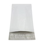 6 x 9  Poly Mailers Envelopes Shipping Bags White Perforated 2.5 mil Case:100
