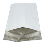 6.5x10 Poly Bubble Mailers White Self Sealing Shipping Padded Envelopes Size#0 case:250