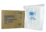 VALUE Zip Reclosable Lock Bags 13 x 18 x 2 Mil Case:1000