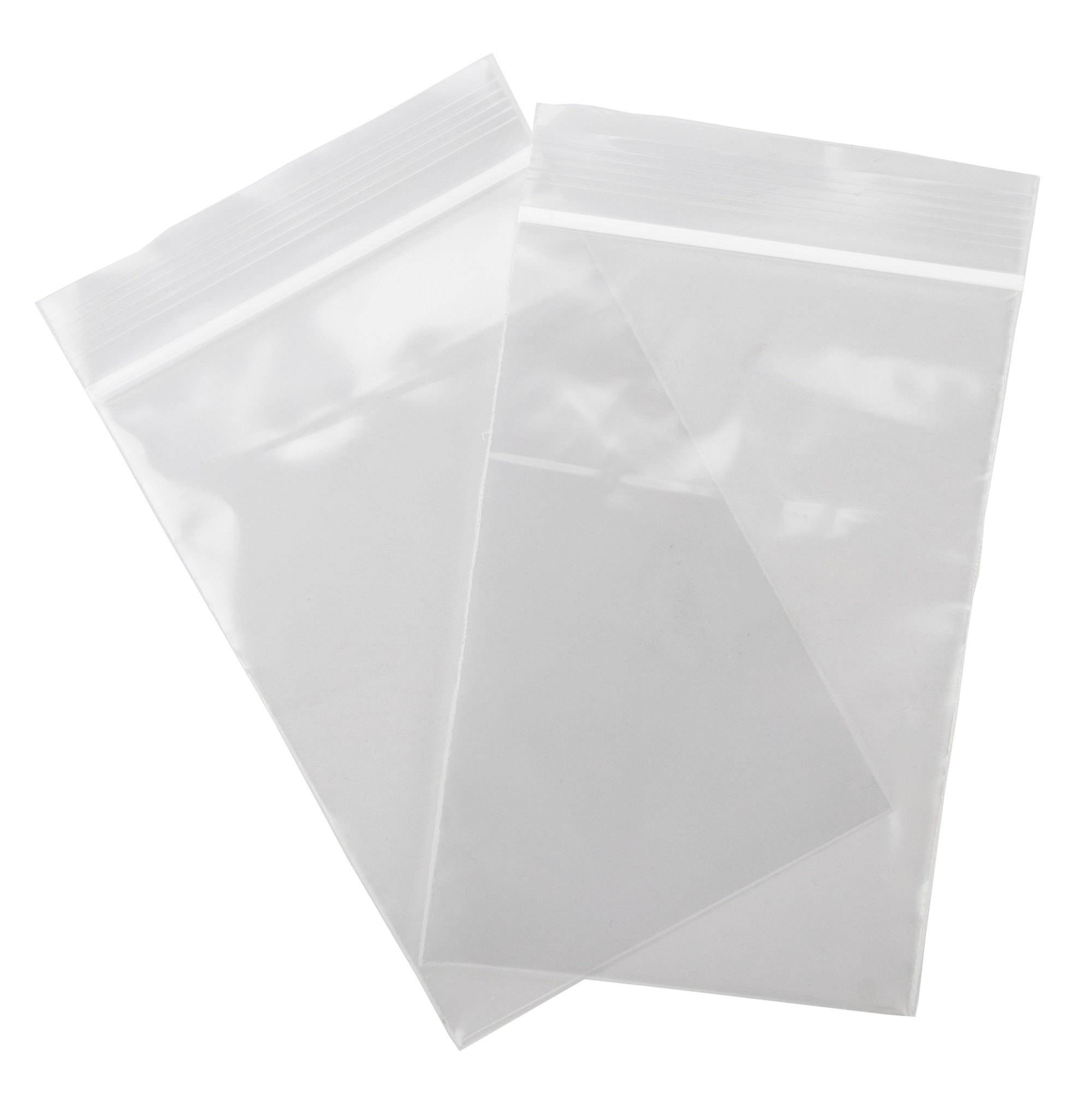 Clear Plastic Flat Open Poly Bag 9x12-1 mil MagicWater Supply 100 Pack