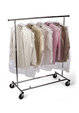 Clear Dry Cleaning Garment Bags on a Roll 21 x 4 x 72 x 0.6 Mil  Roll:270