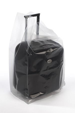 Clear Gusseted Poly Bags 26 x 24 x 48 x 3 Mil (24 in gusset) Case:50