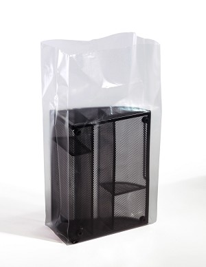 Clear Gusseted Poly Bags 6 x 4 x 15 x 3 Mil (4 in gusset) Case:1000