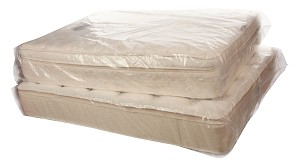 Clear Mattress Bags Twin 39 x 9 x 90 x 3 Mil Roll:75