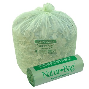 30 Gallon Compostable Trash Bags 0.8 Mil, 30