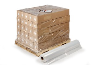 Pallet Size Shrink Bags on Rolls 50 x 48 x 84 x 4 Mil (48 in gusset) Roll:25
