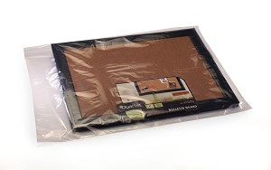 Clear Lay Flat Poly Plastic Bags 13 x 20 x 2 Mil Case:1000