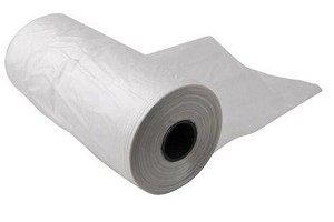 11x17 Plastic Produce Bags On a Roll 1.3 mil 4 Rolls 2000 Bags